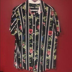 Hawaii Theme Dress Shirt